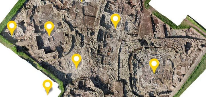 Ness of Brodgar Trench P image map
