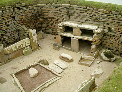 House One, Skara Brae.