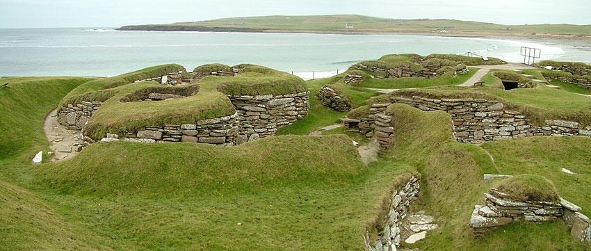 Skara Brae, Sandwick. (Sigurd Towrie)