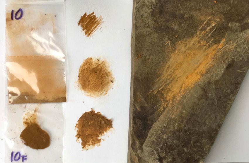Pigment Samples
