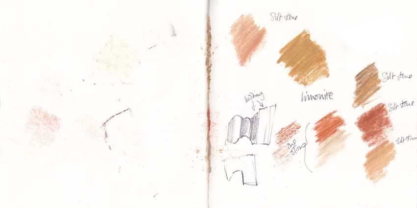 Pigments Sketchbook