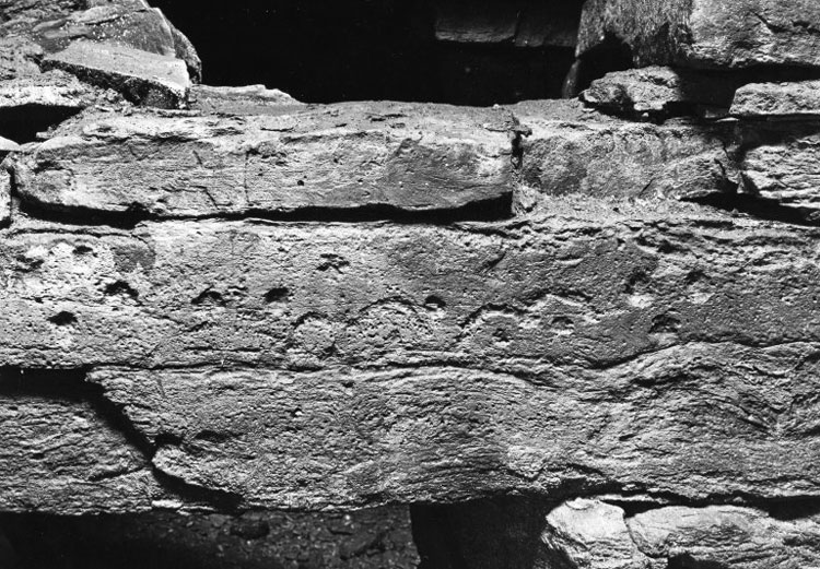 The eyebrow motif at the Holm of Papay South chambered cairn. (http://canmore.org.uk/collection/2003579)