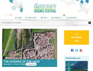 2020 Orkney Science Festival