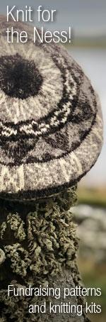 Fundraising patterns and knitting kits