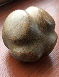 Carved Stone Ball Replica