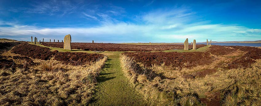South-eastern entrance to the Ring of Brodgar. (Sigurd Towrie)