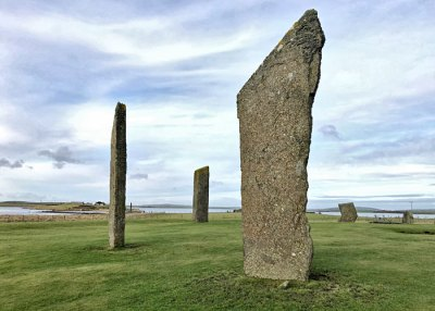 The Stones of Stenness - one of the topics discussed in next week's Rhind lectures.