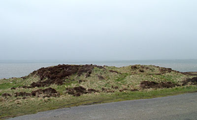 The sorry remains of the Plumcake Mound. (Sigurd Towrie)