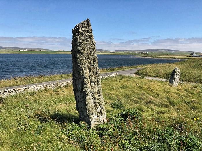 'Lochview' standing stones. (Sigurd Towrie)