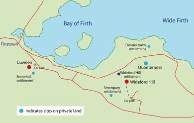 Bay of Firth small map
