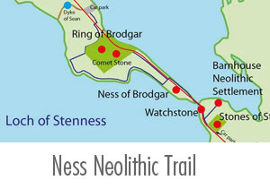 Ness of Brodgar Neolithic Trail