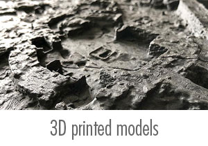Ness of Brodgar 3D printed models