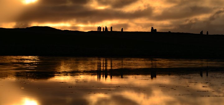 Sunset over the Ring of Brodgar (Nick Card)