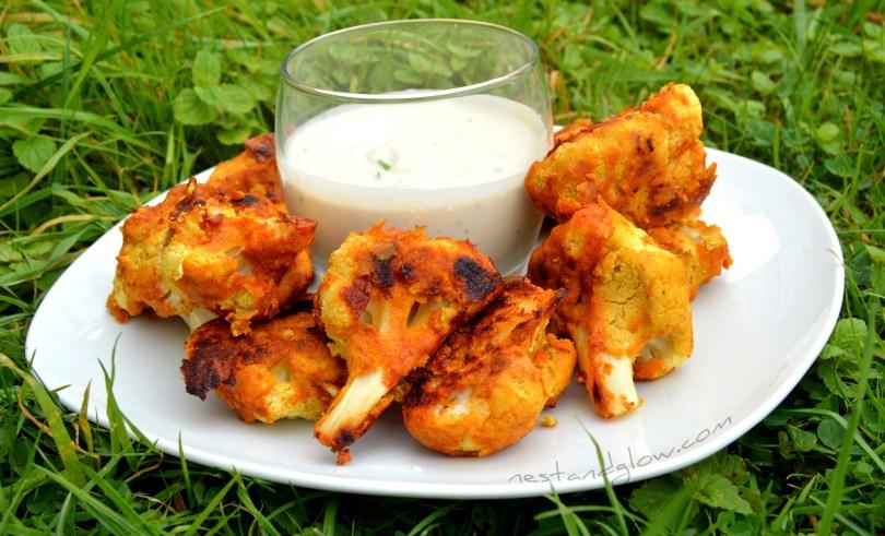 Gluten Free Cauliflower Wings Recipe
