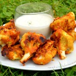 Gluten Free Cauliflower Wings with Raw Ranch Dressing