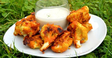 Gluten Free Cauliflower Wings Recipe