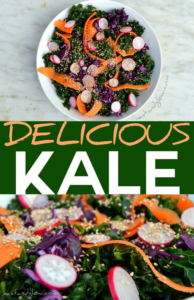 easy to make and tasty kale