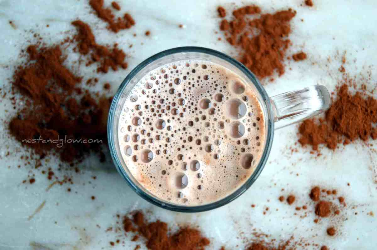 Raw Dairy Free Hot Chocolate Recipe