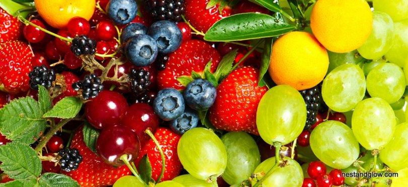 sweet fruit platter