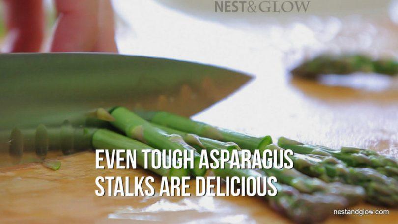 Eat Asparagus Stems