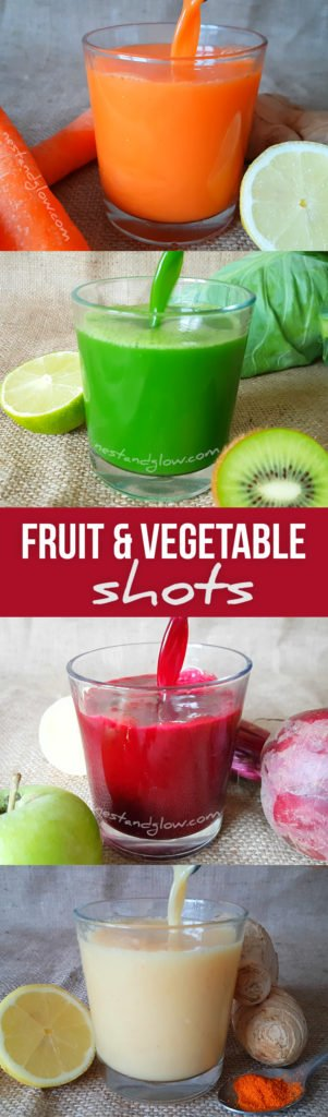 fruit vegetable shot recipes