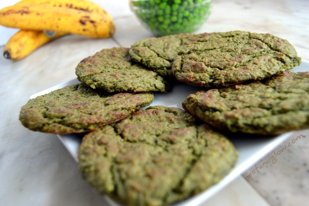 Green Pea Sweet and Salty Cookies Recipe