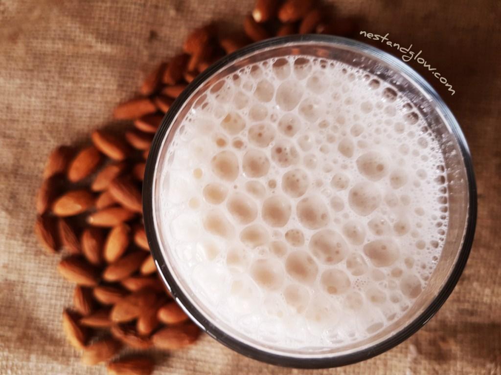 Heart Healthy Almond Milk