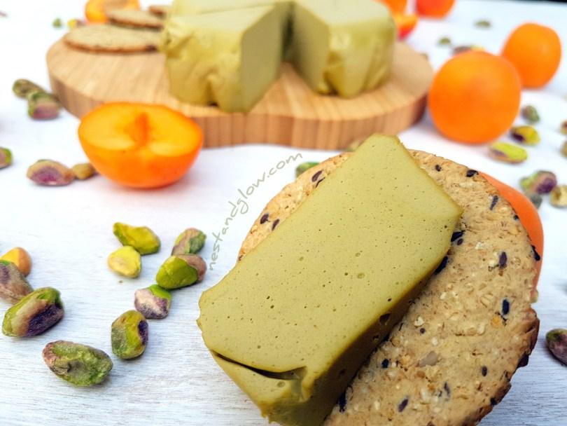 Pistachio Nut Cheese Vegan Dairy-free