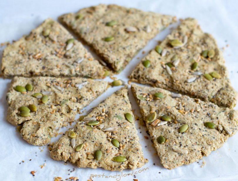Five Seed Oatcakes Crackers