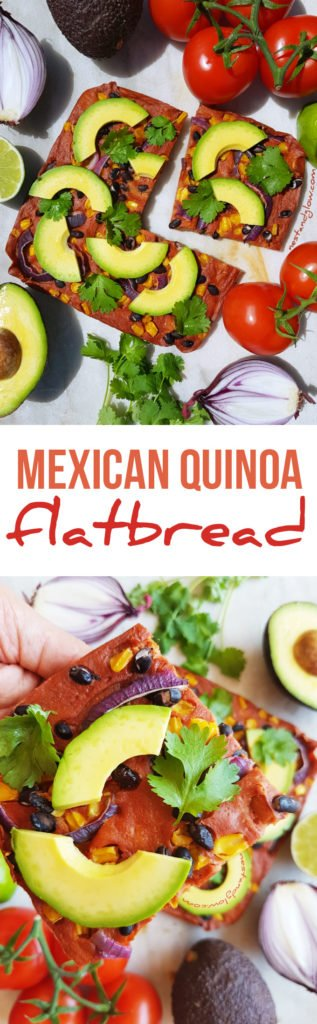 Mexican Quinoa Flatbread Recipe - Gluten-free and easy