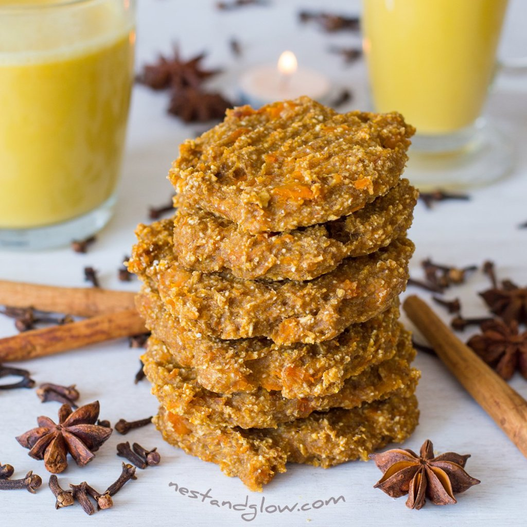 banana oat pumpkin spiced cookies recipe