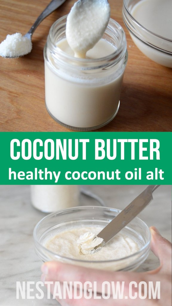 Coconut butter is a healthy alternative to coconut oil. Just made from 100% pure raw coconut and blended until creamy. It sets solid at room temperature and is liquid once heated above 38 degrees. All the fibre of coconut making it a great replacement to coconut oil #rawvegan #healthyeating #whole30 #healthydiet