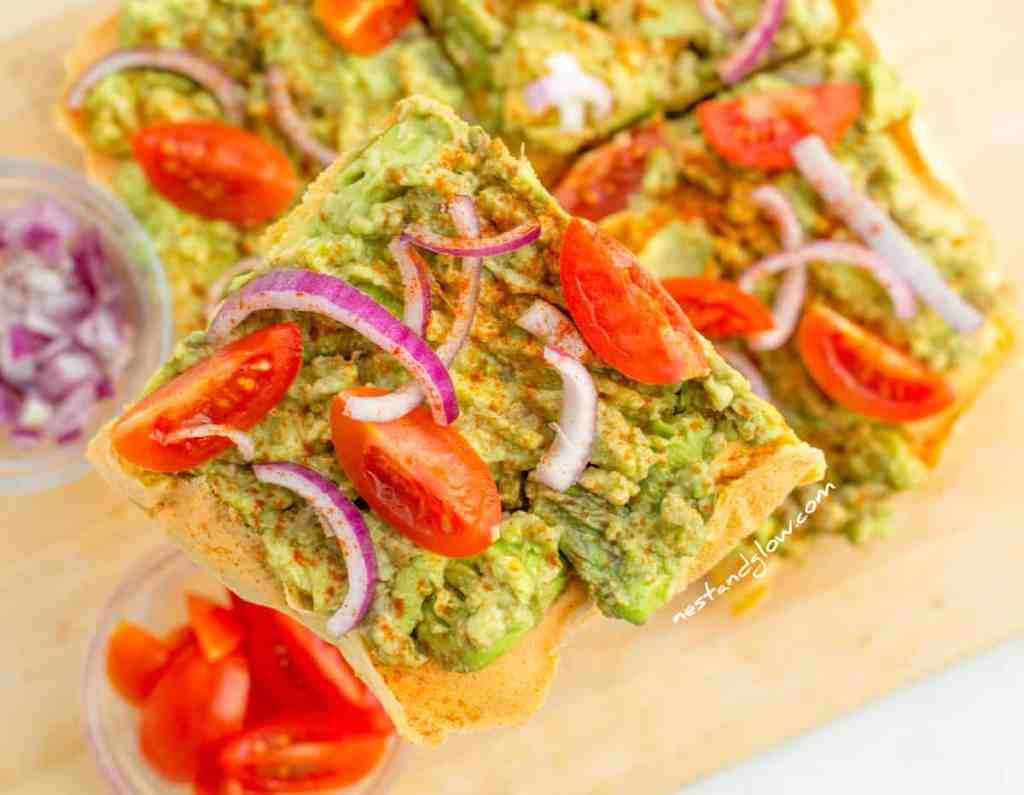 Avocado on Protein Toast Gluten-free Recipe