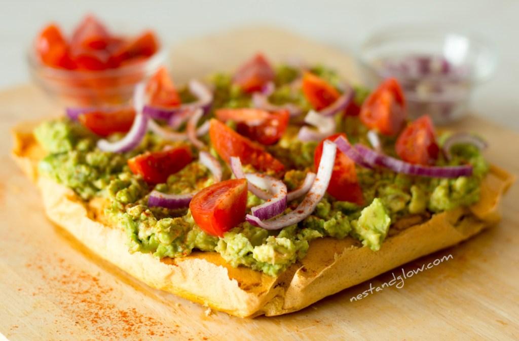 Avocado on Lentil Protein Toast