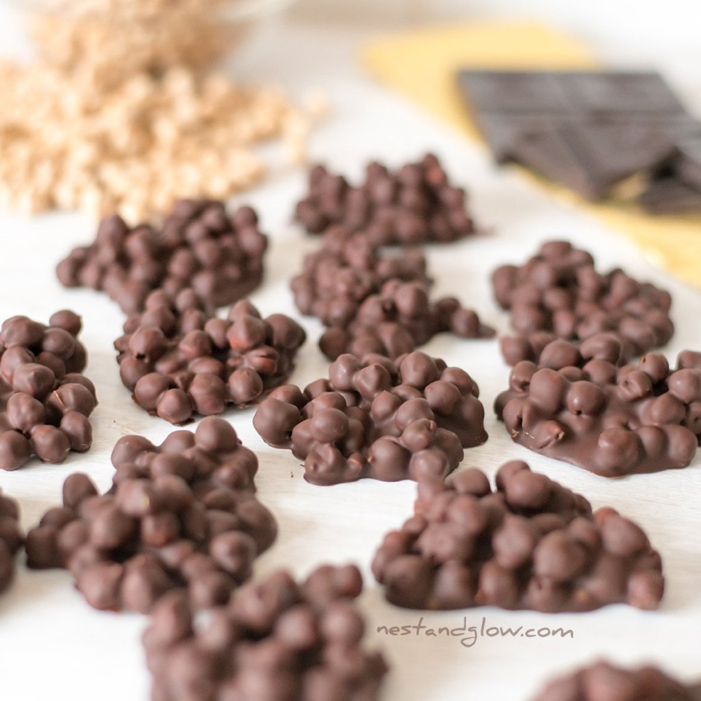 2 Ingredient Protein Candy Chocolate