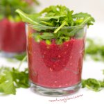 Beetroot and Bean Protein Pots Vegan Healthy