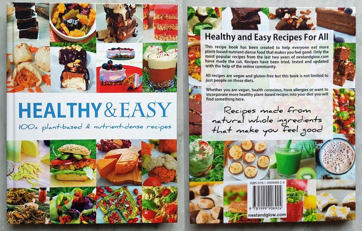 Healthy and easy recipe book nest and glow healthy and easy recipe book forumfinder Image collections