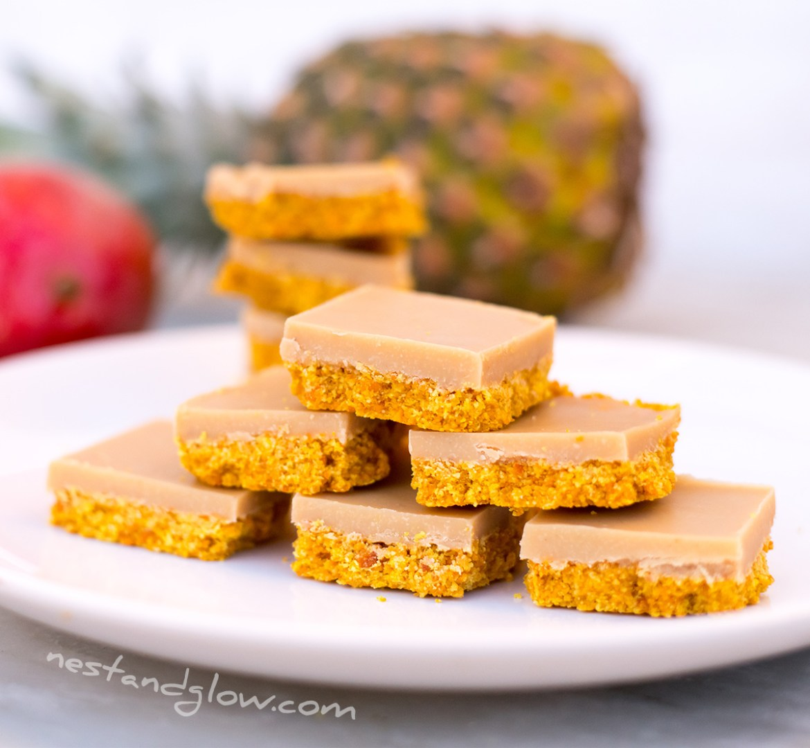 Tropical Smoothie Healthy Fudge Vegan