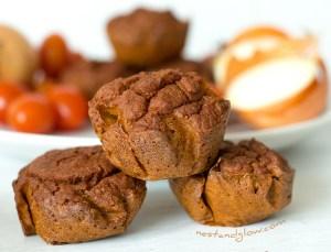 quinoa tomato gluten-free healthy muffins