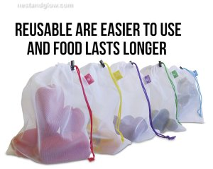 eco friendly fresh produce bags