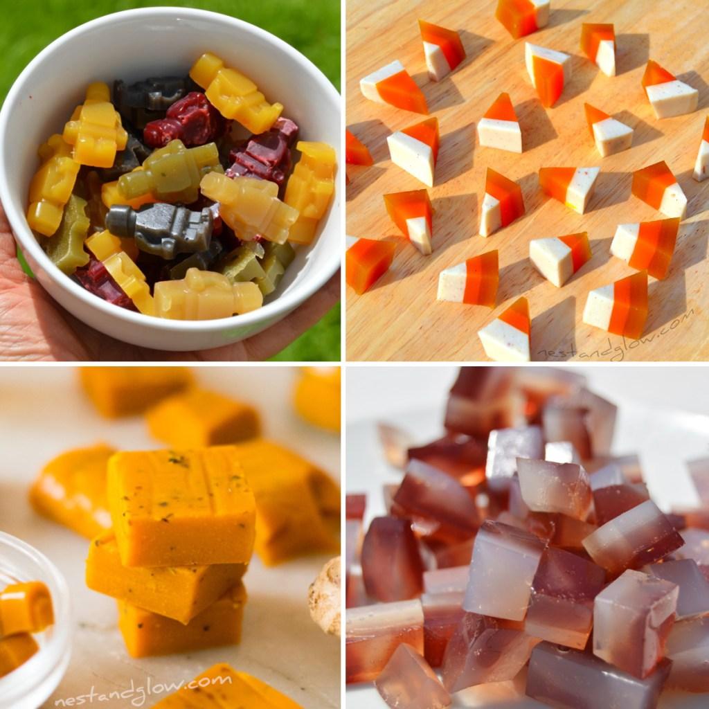 gelée végétalienne saine recettes sucrées