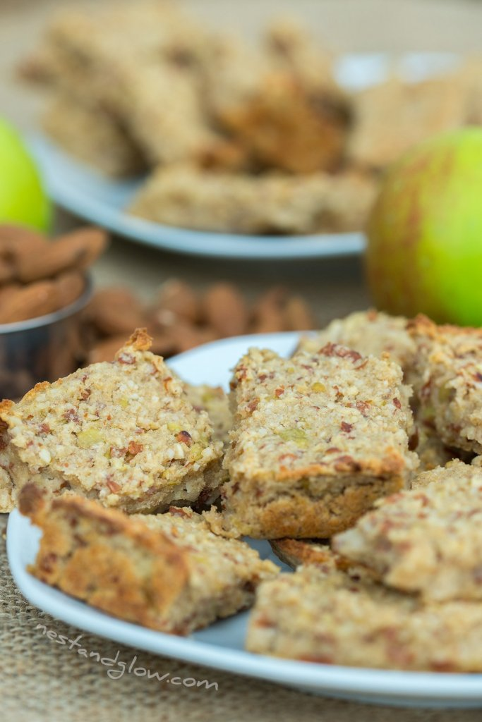 healthy wholefood breakfast bars vegan and chewy