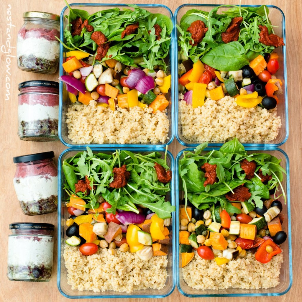 Easy High Protein Vegan Meal Prep Recipes