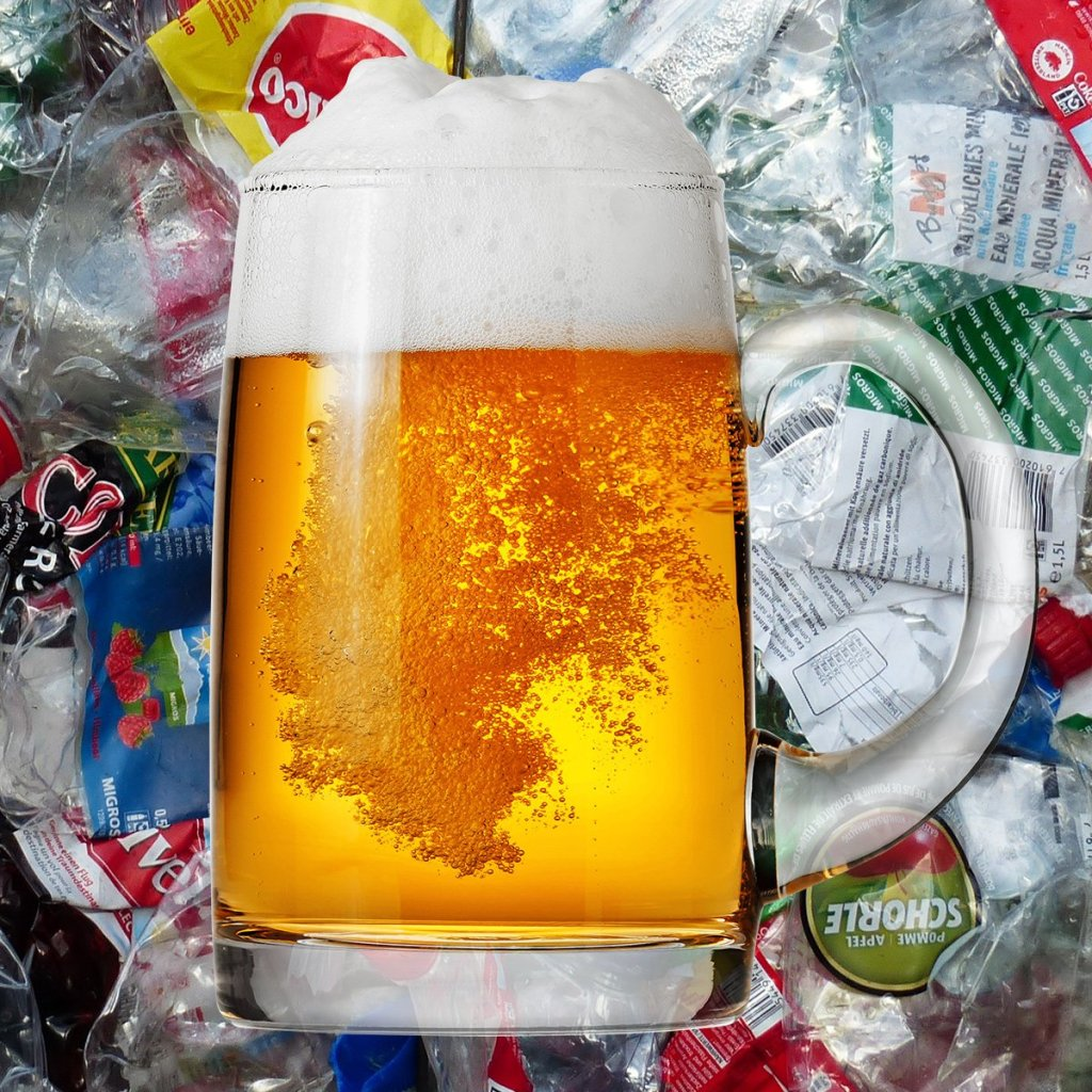 microplastics in beer