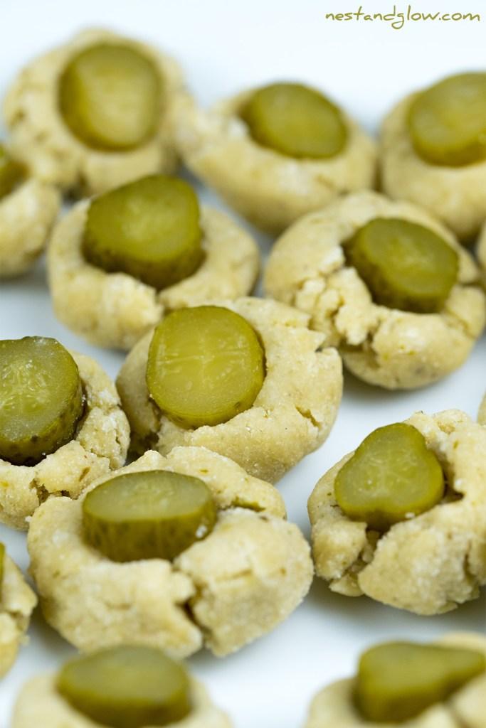 pickle cookies no flour no butter