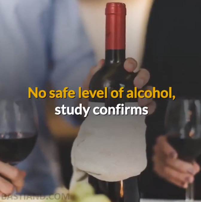 No safe level of alcohol