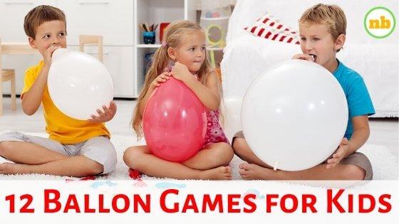 Balloon games for preschoolers