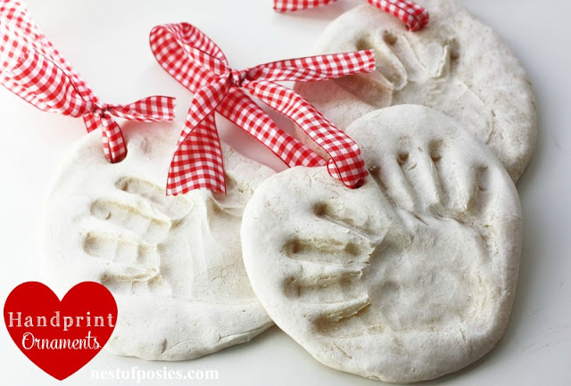How to make Handprint Ornaments