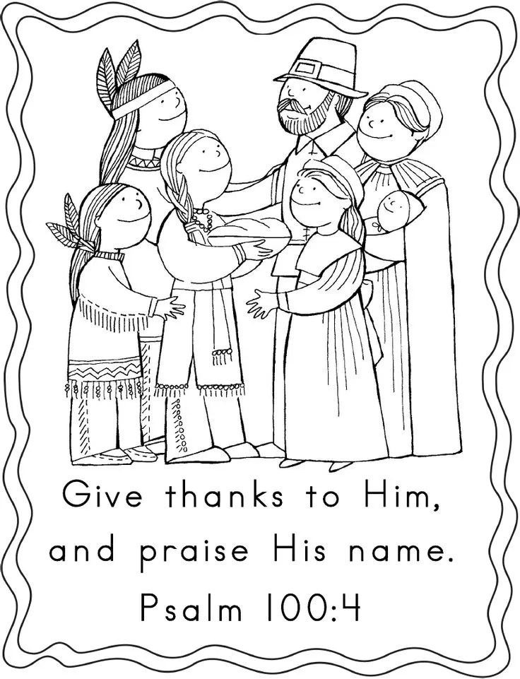 Pilgrims first thanksgiving coloring pages ~ Thanksgiving Coloring Pages