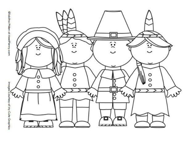 free coloring pages thanksgiving # 33